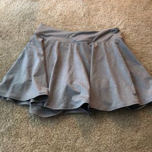 Nike Dri-fit gray tennis skort
